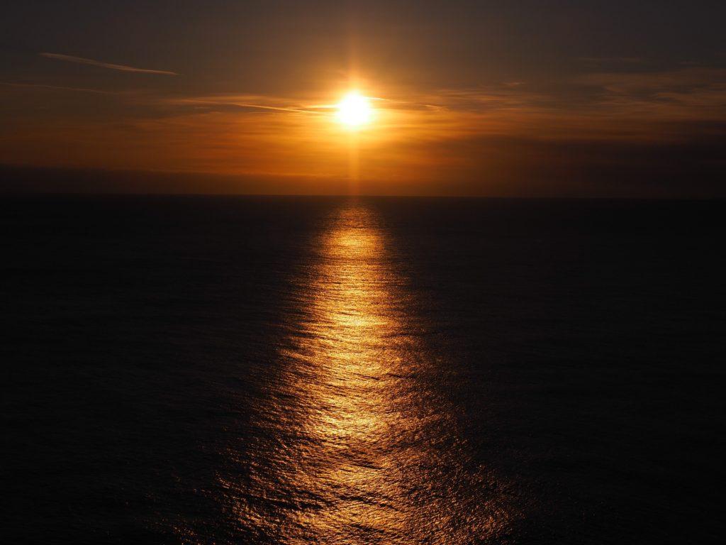 Couché soleil 1