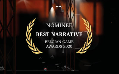 Nominated for the BELGIAN GAME AWARDS